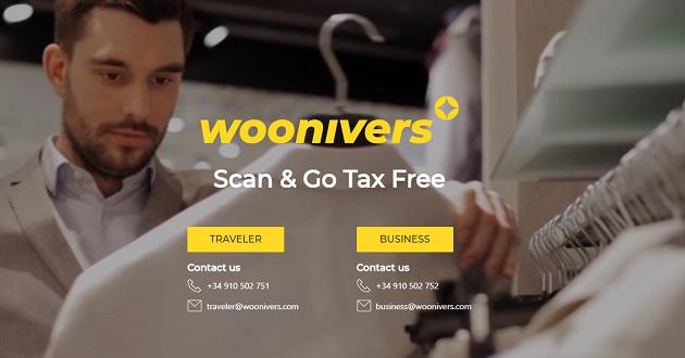 Woonivers, la app que facilita el tax free