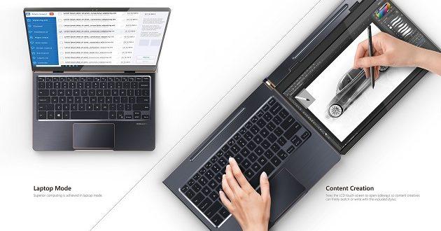 Compal DuoFlip: un portátil para diseñadores y creadores de contenido