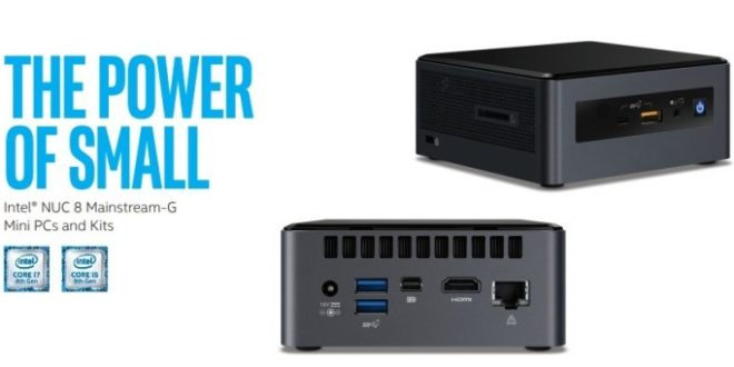 Intel Islay Canyon, nuevos NUC con procesadores Core 8000U