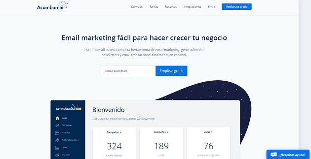 Acumbamail, la alternativa española de email marketing