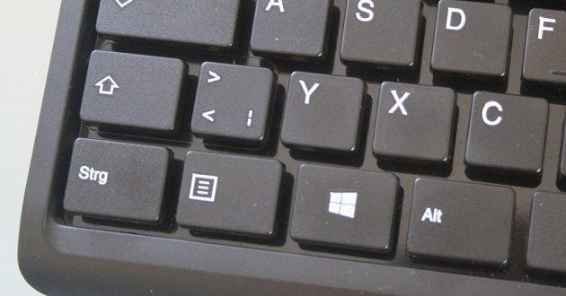 Microsoft considera eliminar la tecla menú por una dedicada a Office
