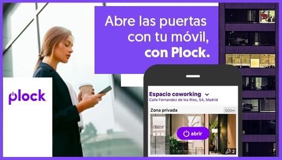 Plock sale al mercado como solución integral para gestionar y digitalizar los accesos para empresas con un precio competitivo