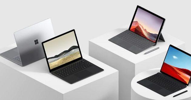 Microsoft presenta Surface Pro 7, Surface Pro X y Surface Laptop 3 en España