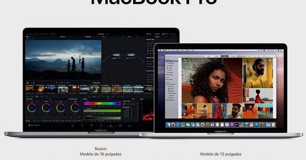 Apple MacBook Pro de 16 pulgadas: especificaciones y precios