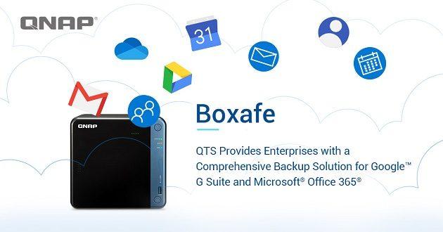 Descubre Boxafe de QNAP, la solución de copia de seguridad para Google G Suite y Microsoft Office 365
