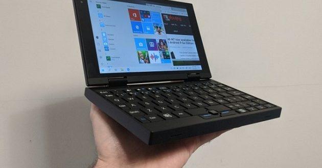 Peakago, un mini portátil con conectividad 4G y un precio asequible