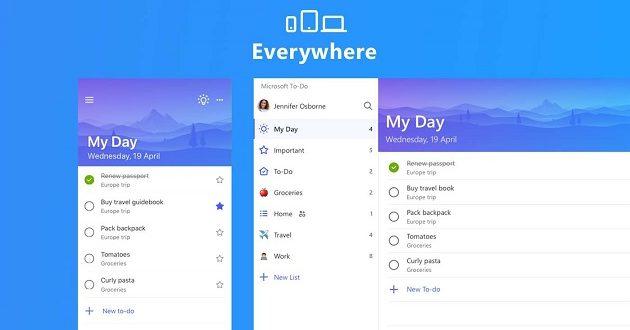 Microsoft To Do recibe una importante actualización en Android y iOS