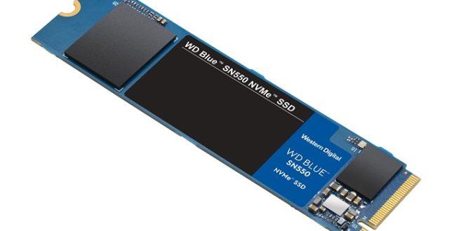 WD presenta el Blue SN550, un SSD NVME potente y equilibrado