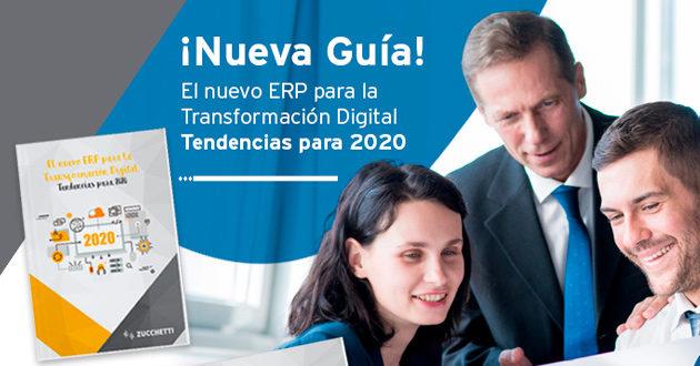 El nuevo ERP para la Transformación Digital: Zucchetti Spain identifica las tendencias ERP para 2020