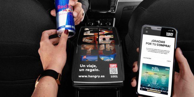 Hangry levanta un millón de euros para intentar convertir taxis y VTC en auténticas tiendas para comprar y probar productos