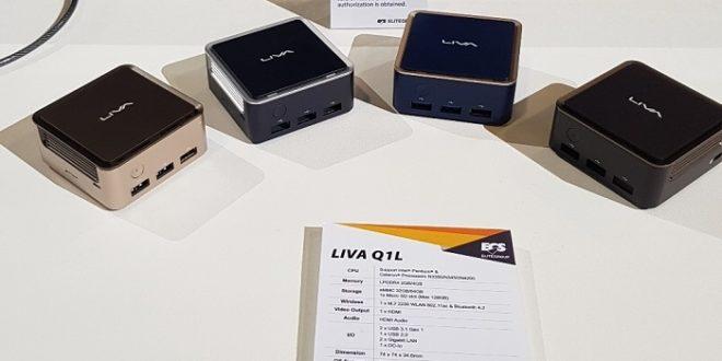 ECS presenta los nuevos Liva Q1, PCs diminutos con soporte de dos pantallas
