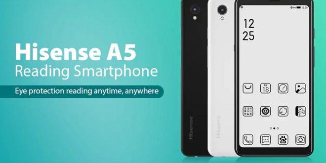Hisense A5 E Ink, un smartphone con pantalla de tinta electrónica y Android