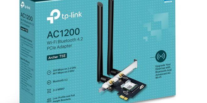 TP-Link presenta el adaptador Archer T5E: Wi-Fi y Bluetooth en cualquier PC