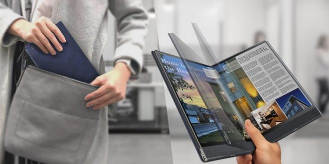 Compal Flex Book: una tablet plegable que puedes convertir en un portátil