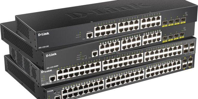 D-Link democratiza el acceso a las redes 10 Gigabit con la gama DGS-1250 Smart Pro