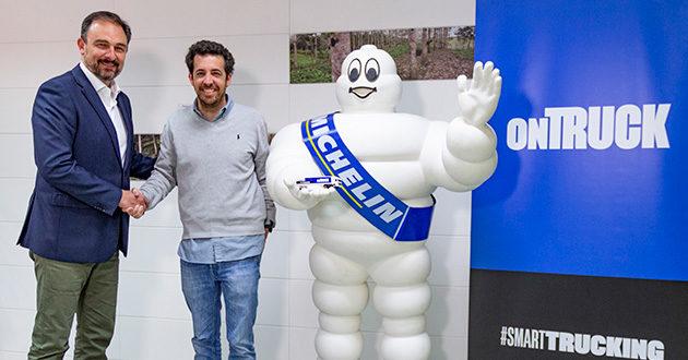 Michelin y Ontruck cierran un acuerdo que beneficia a los usuarios de la plataforma