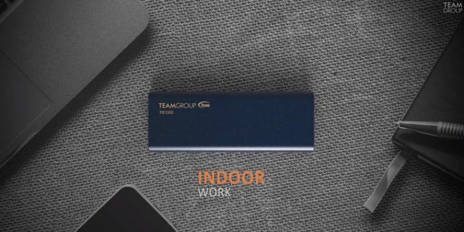 Team Group presenta el PD1000 Portable, un SSD portátil muy resistente
