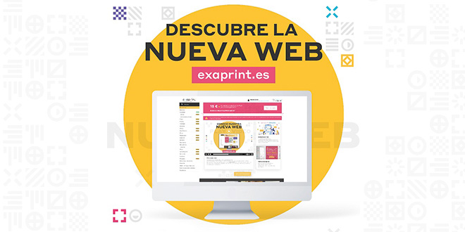 Exaprint ofrece un interesante descuento para celebrar el nuevo diseño de su web
