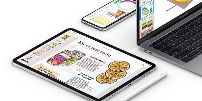 Apple actualiza iMovie y iWork para iOS y iPadOS con soporte de ratón y trackpad