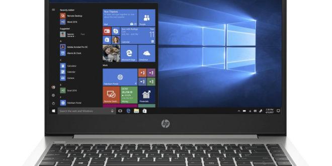 Nuevos portátiles profesionales HP ProBook 445 G7 y HP ProBook 455 G7 con Ryzen