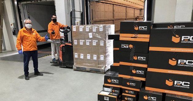 PcComponentes dona 600 kilos de filamento para la impresión 3D de equipos de protección