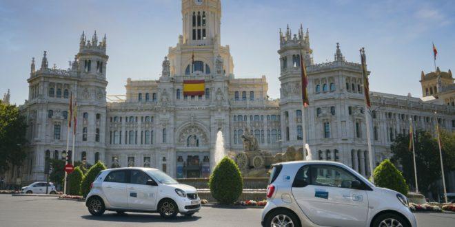 Share Now reanuda su servicio de carsharing flexible en Madrid