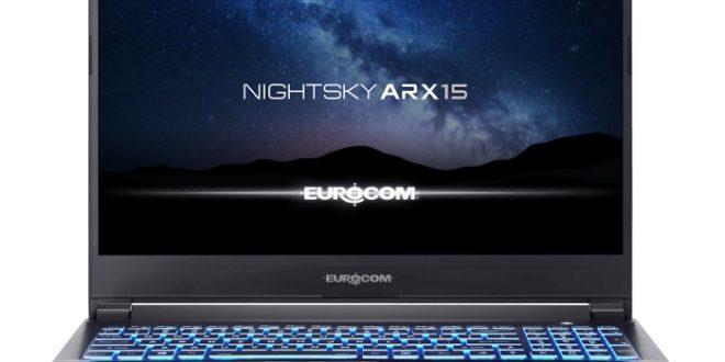 Eurocom Nightsky ARX15: un superportátil para profesionales exigentes