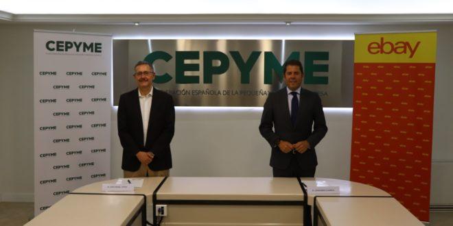 EBay y Cepyme alcanzan un acuerdo para impulsar a las pymes españolas en el ámbito del comercio electrónico