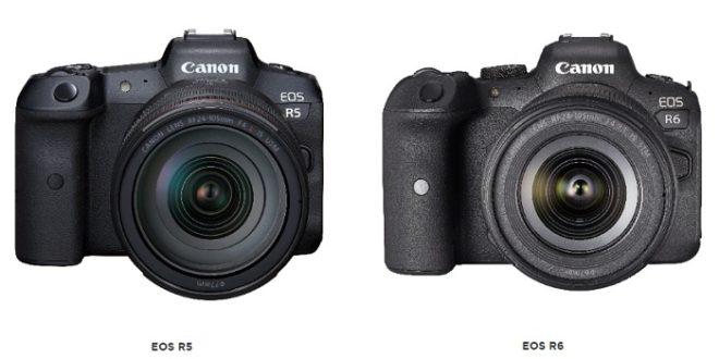 Nuevas Canon EOS R5 y EOS R6: especificaciones y precios