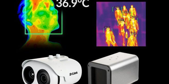Nueva D-Link DCS-9500T, una cámara termográfica para el control de temperatura corporal en grupos
