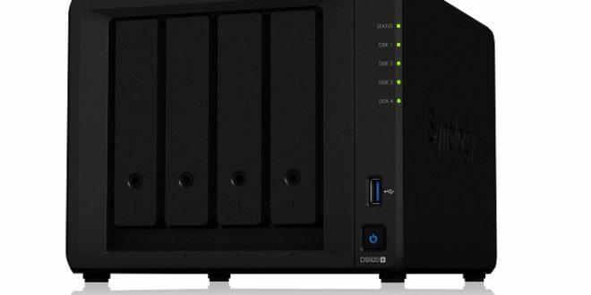 Synology presenta el DS920+, un NAS dirigido a pequeñas empresas
