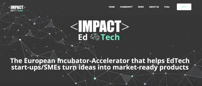 Impact EdTech lanza una convocatoria extraordinaria para impulsar a startups y pymes que apuesten por la educación en remoto