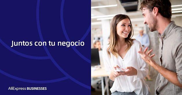 «Juntos con tu negocio», la iniciativa de AliExpress para ayudar a las pymes