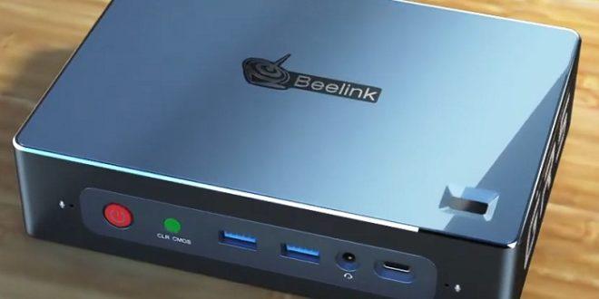 Beelink presenta el mini PC GT-R con APU Ryzen y lector de huellas dactilares