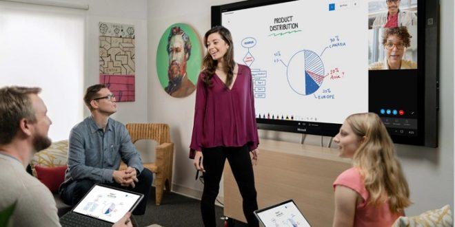 Microsoft Whiteboard soporta notas rápidas y texto en su versión web