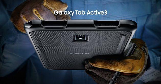 Samsung presenta la Galaxy Tab Active 3