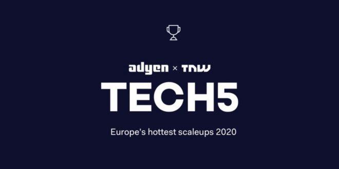 Desvelados los ganadores de la competición para startups y scaleups 2020 de Tech5
