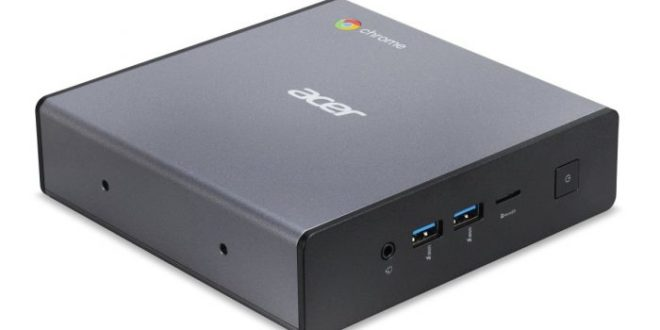 Acer Chromebox CXI4: un PC compacto con Chrome OS y CPU Intel Comet Lake