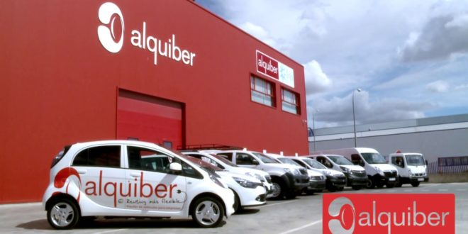 Alquiber aumenta un 17% su flota de vehículos y crece en ingresos y EBITDA hasta un 10%