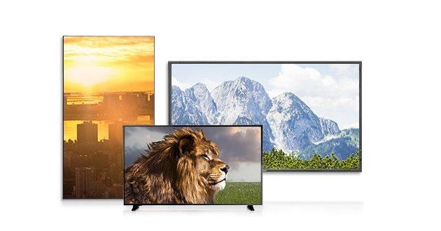 NEC Display Solutions y BrightSign presentan su nueva gama de pantallas de gran tamaño