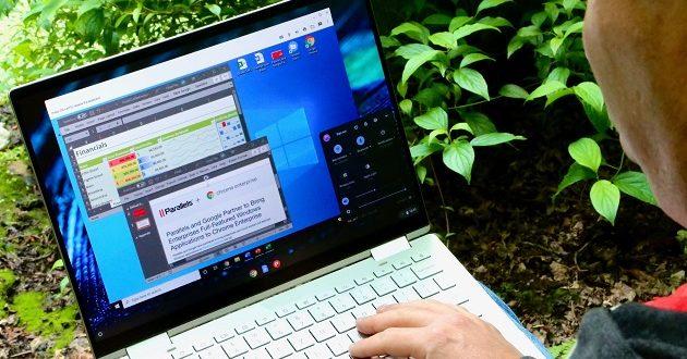 Parallels Desktop permite ejecutar Windows 10, y sus aplicaciones, en Chrome OS