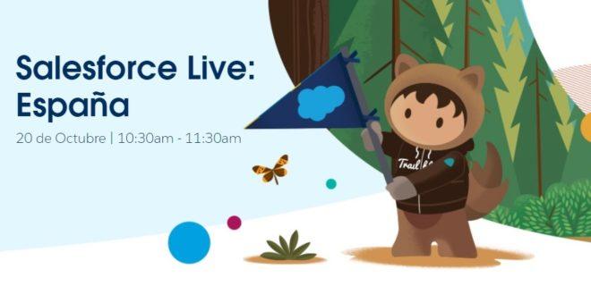 Salesforce Live España 2020: un evento diferente