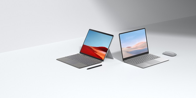 Microsoft Surface Laptop Go y Surface Pro X 2020 ya disponibles en España