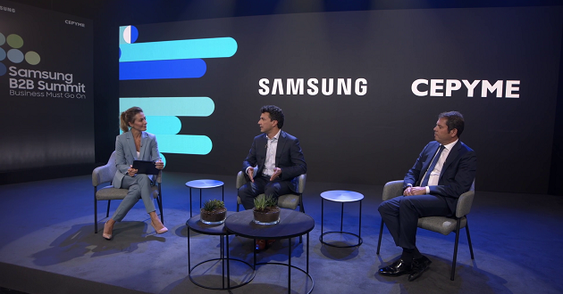 Samsung se vuelca con las pymes en su evento «Business Must Go On»