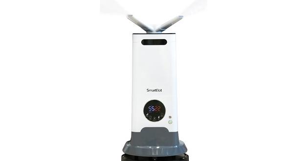 SMARTBOT, el robot fabricado en España que desinfecta espacios por nebulización