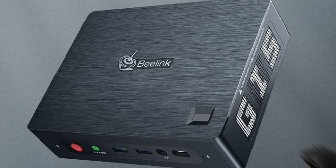 Beelink GTI, un mini PC compacto con lector de huellas integrado