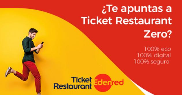 Edenred lanza la primera tarjeta 100 % virtual en España: Ticket Restaurant Zero