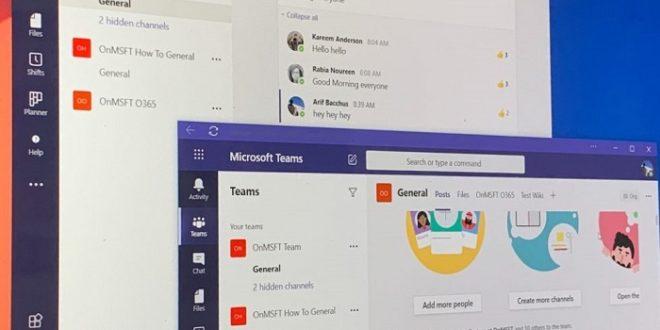 Un vistazo a las novedades más importantes que llegan a Microsoft Teams