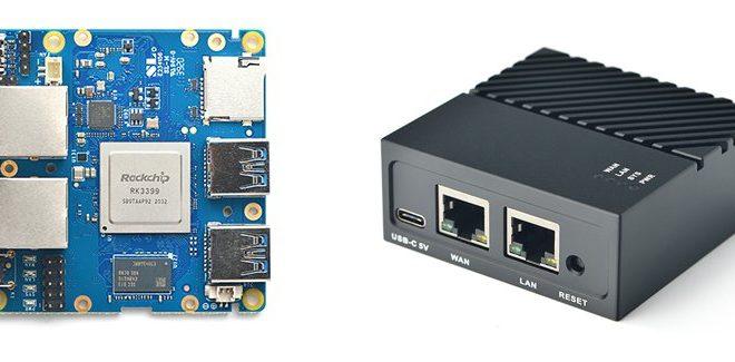 NanoPi R4S, un PC diminuto con dos conectores Gigabit Ethernet