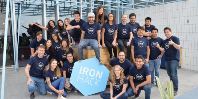 Iron Hack cierra una ronda de financiación de 16,5 millones de euros para expandir su programa online de formación a empresas
